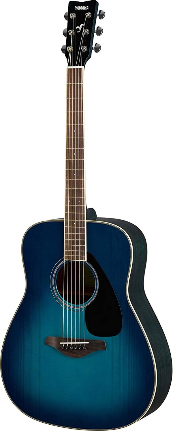 Yamaha FG820 Acoustic Guitar - Sunset Blue 1
