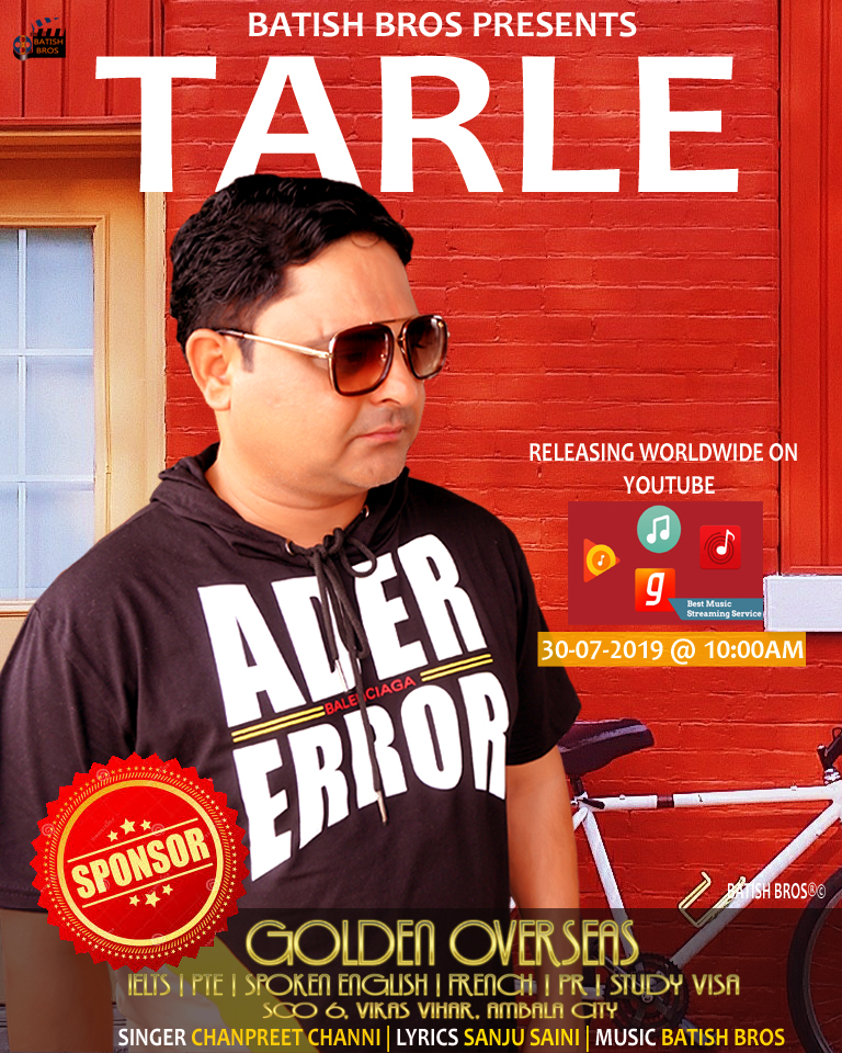 Tarle ( FULL HD) Chanpreet Channi | Batish | Batish Bros | New Punjabi Hit Songs 2019 1